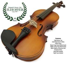 Violin H. Hoffer 3/4 and 4/4 Brand new stock available including case