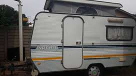 SPRITE SPRINT 1982 MODEL WITH RALLY TENT WITH SIDES