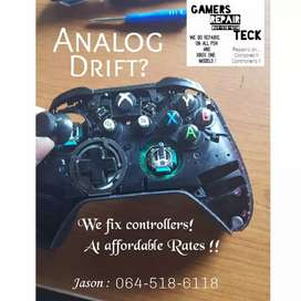 We repair Controllers and xbox/Ps4 gaming consoles