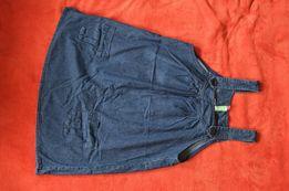 Jeansowa tunika ciążowa 42
