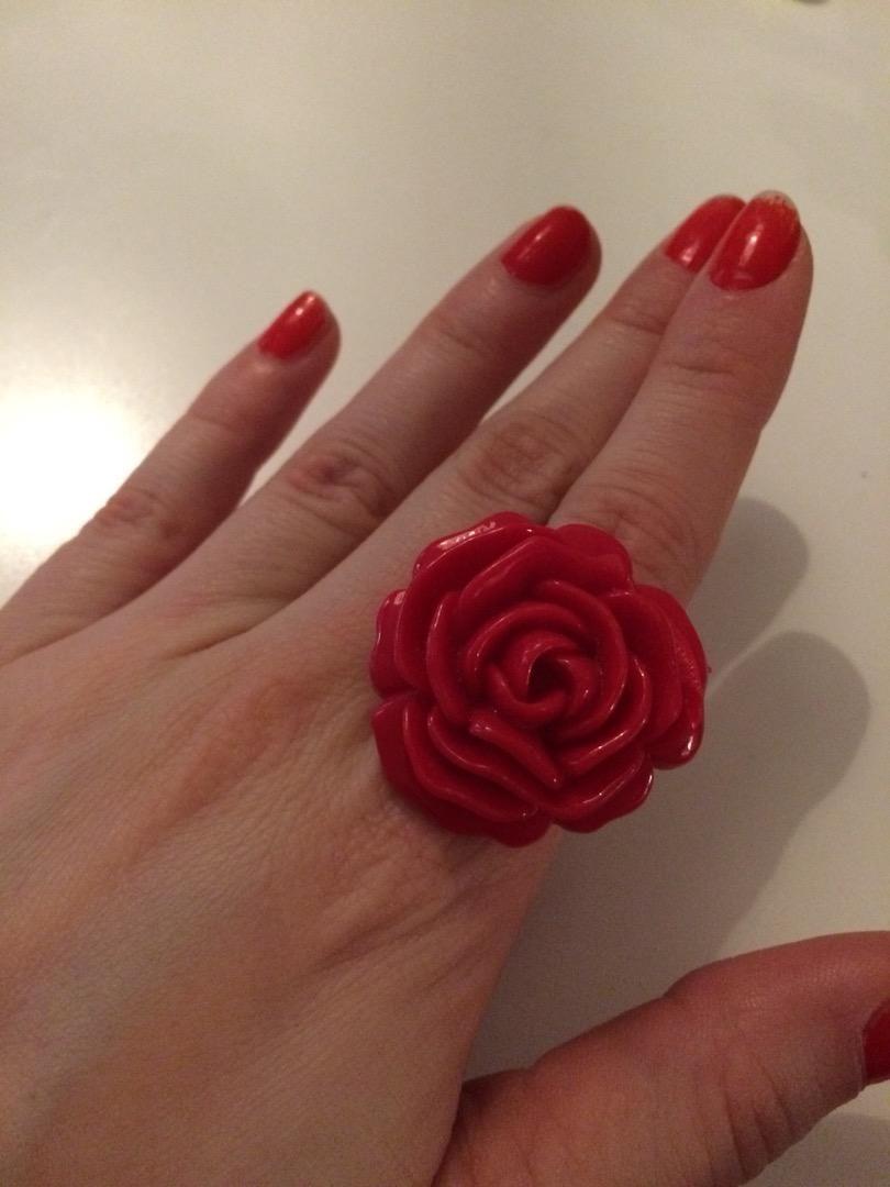 Noseny prsten ruze M 0