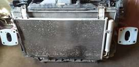 MAZDA CX-5 RADIATOR SET INTERCOOLER , FAN FOR SELL AUTO SPARE PARTS