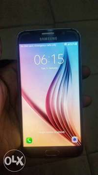 Very clean samsung galaxy S6 for URGENT SALE 0