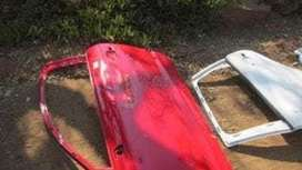 2013 Audi A3 left door shell – Used(CR)