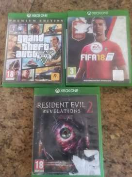 Xbox one games for swap