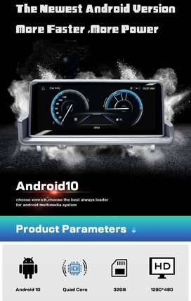 Android10.0 Car GPS Navigation Multimedia Player Radio For BMW Series