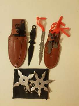 Throwing Knives and Shurikens