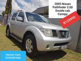 Call Haroon Nissan pathfinder 3.0D Double cab
