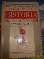 Podręcznik Historia dla szkół średnich zawodowych Świat Europa Polska