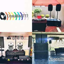 Sound, Dj and Lighting hire in Gauteng from R1500