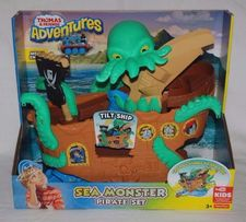 TOMEK ADVENURES -Morski potwór-MEGA Statek