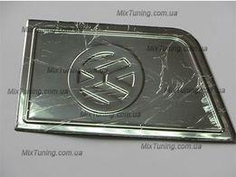 Хром накладка на крышку (люк) бака VW T4/ T5/ Caddy (кадди/Т4/ Т5)нерж