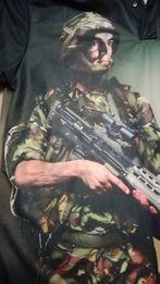 Koszulka dla żołnierza weterana,Veteran Army