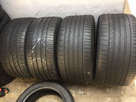 275 40 R20 And 315 35 R20 Continental Conti Sport Contact Tyres