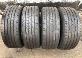 265 60 R18 Continental CrossContact Tyres (With 8 mm Thread Left)
