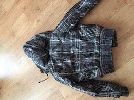 Осенняя курточка в клеточку