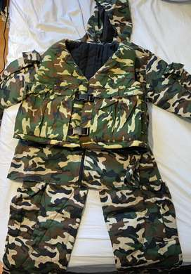 Full camo suit set(size small)
