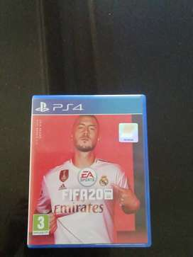 Ps4, fifa 20 game for sale.