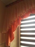 Штори ламбрикени гардини тюль красивого кольору