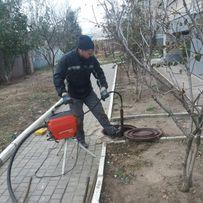 Прочистка труб, устранение засора, чистка канализации - Новая Каховка
