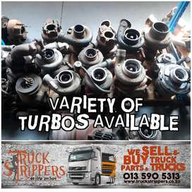 Variety of second hand Truck turbos