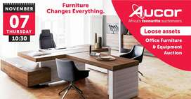 Office furniture and equipment auction