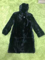 Шуба норковая черная размер XS