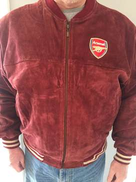 Arsenal Suede Leather Jacket R1000
