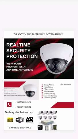 CCTV CAMERAS INCLUDING INSTALLATION