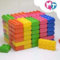 Кубики конструктор детский развивающий - Мега Куб ( 80 шт. )