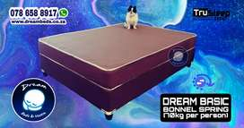 3/4 Mattress and Base -  FREE DELIVERY