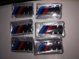 BMW Black metal Msport badge
