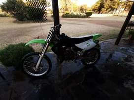 Kx 85 100 % has alot of power selling it because im getting a car