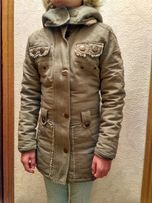 Продам детское зимнее пальто,куртку,парку