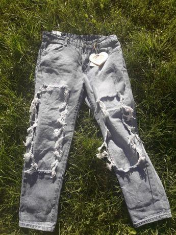 Spodnie jesnsowe M nowe Wągrowiec - image 1