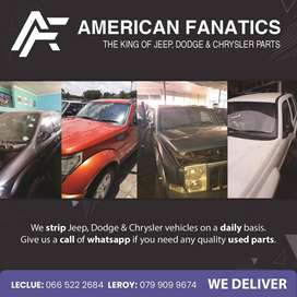 We strip JEEP, DODGE & CHRYSLER for spare parts!