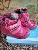 Детские кожаные ботинки, 21 размер