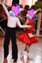 Платье для танцев Бейсик на 3-6 лет танцевальное платье