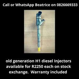 Old generation H1 Injector