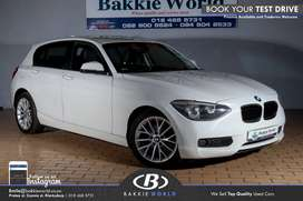 2012 BMW 1 Series 118i 5dr (f20)