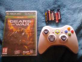 Xbox 360 romote and gears of war