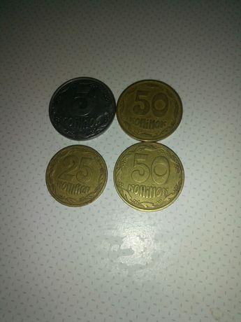 Монеты Украины 1992, 1994 года
