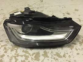Audi A4 headlight xenon very clean nothing fixed or brocken