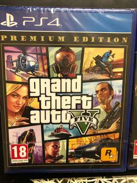 GTA V PS4 3 days old
