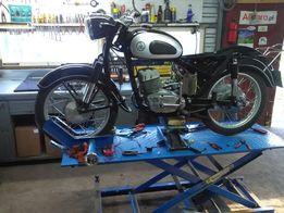 Naprawa motocykli zabytkowych wsk, mz, jawa, shl, cross, motorowerów