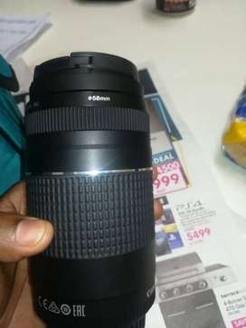 Canon lenses EF 75-300mm