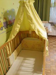 Komplet pościeli do łóżeczka 90x120cm, 40x60cm, pościel dziecięca