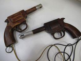Ручная работа дерево/ Резьба / Зажигалка Пистолет