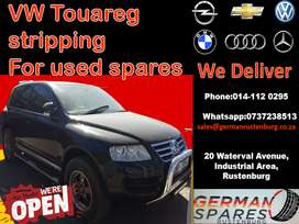 VW Touareg stripping for used spare parts