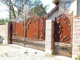 Ворота,Монгали,Козырьки,Двери,Лавочки.